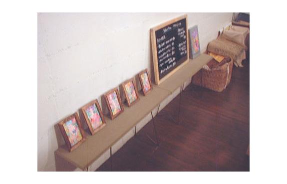 アクリル画展 in Cue! 2007